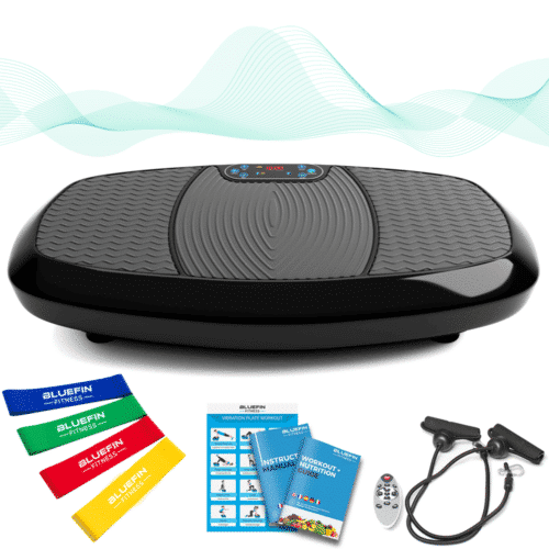 , Profi Vibrations-Platte – Ultra-Leistungsstarker Vibrations-Massage-Trainer